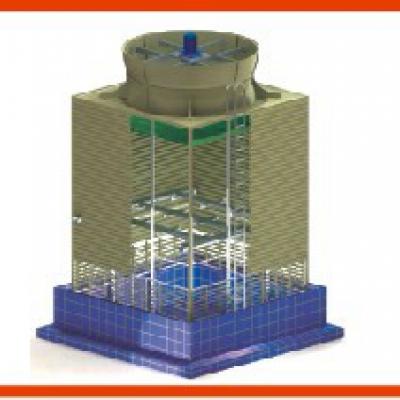 LYRP 盐化工专用无填料喷雾型冷却塔