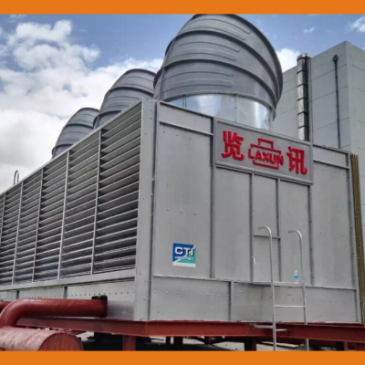 PL 系列方形横流式带风曲冷却塔