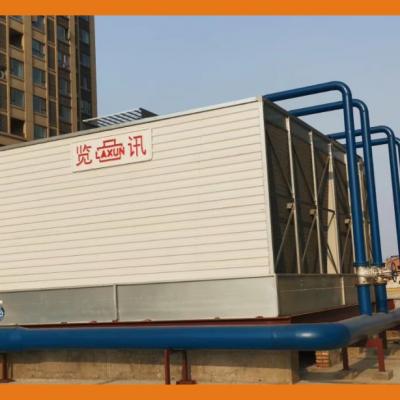 PL 系列方形横流式玻璃钢冷却塔