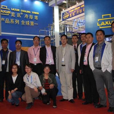 览讯参加2012年中国制冷展[北京]