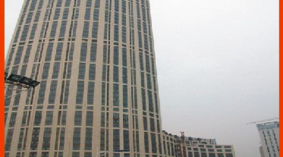 常州第一高楼226米的凯纳商务广场